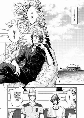KAKUNOMI NEW! Moujinro Final Fantasy XV 15 YAOI Doujinshi Noctis x Ignis